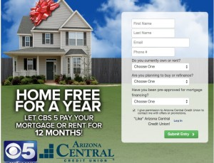House payment contest