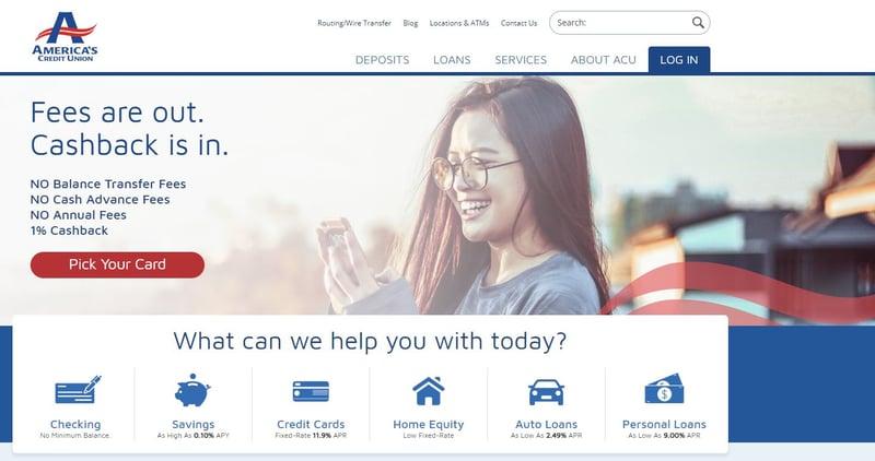ACU Credit Card Banner
