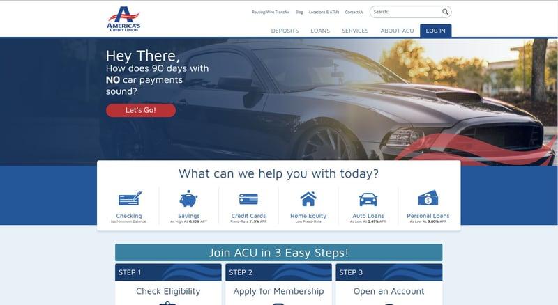 ACU Website After