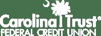 Carolina Trust Logo Federal Credit Union Logo Vector White
