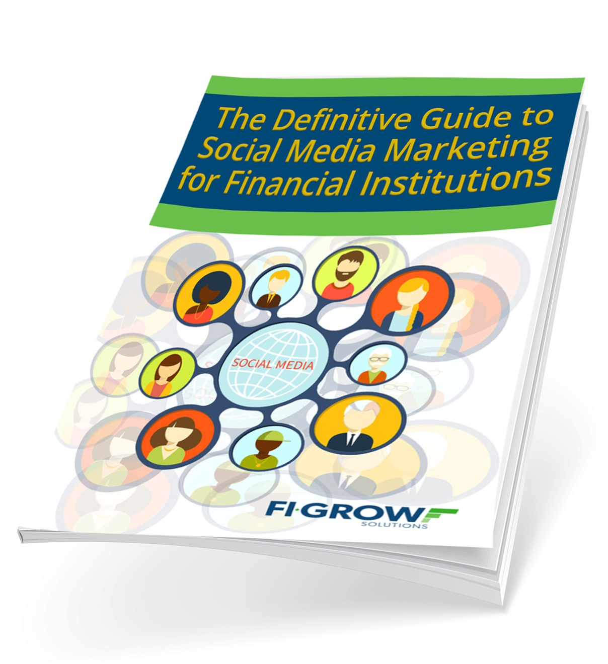 Definitive Guide to Social Media eBook Cover Graphic