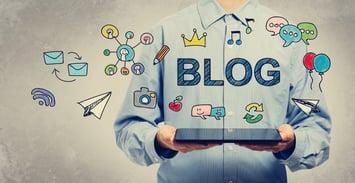 social media content blog image