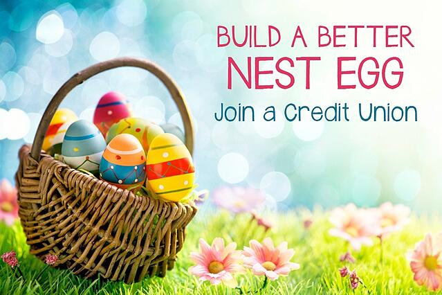 Credit Union Graphics for Easter