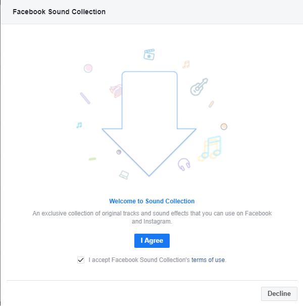 Facebook Creator - Sound Collection