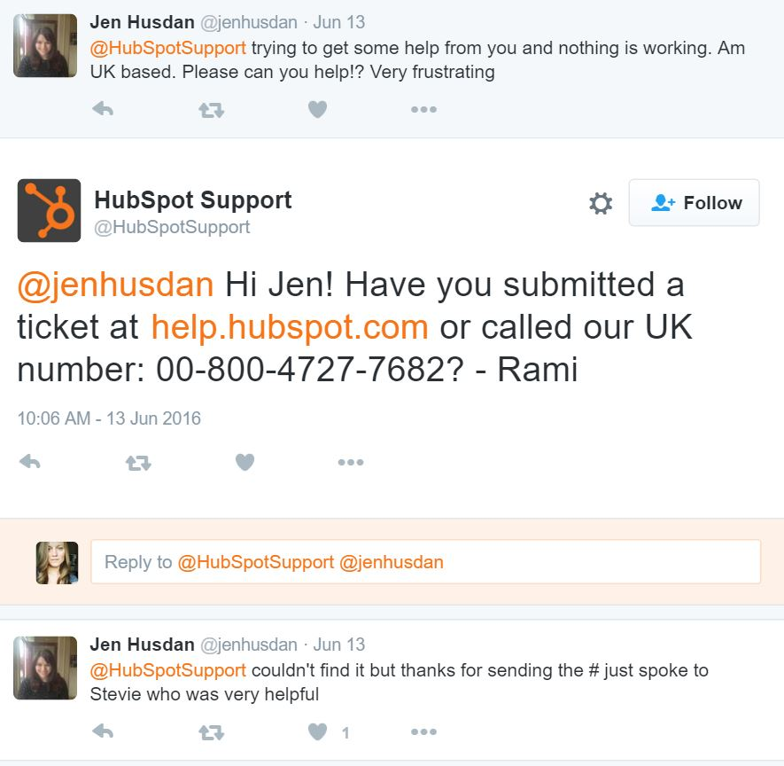 Respond to Comments on Social Media - Hubspot