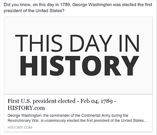 Credit Union Marketing Ideas - This Day In History