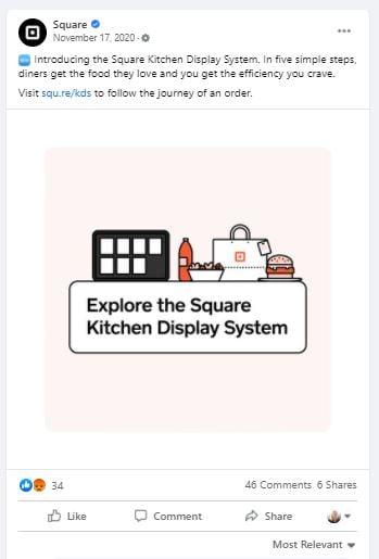 Square Facebook Post