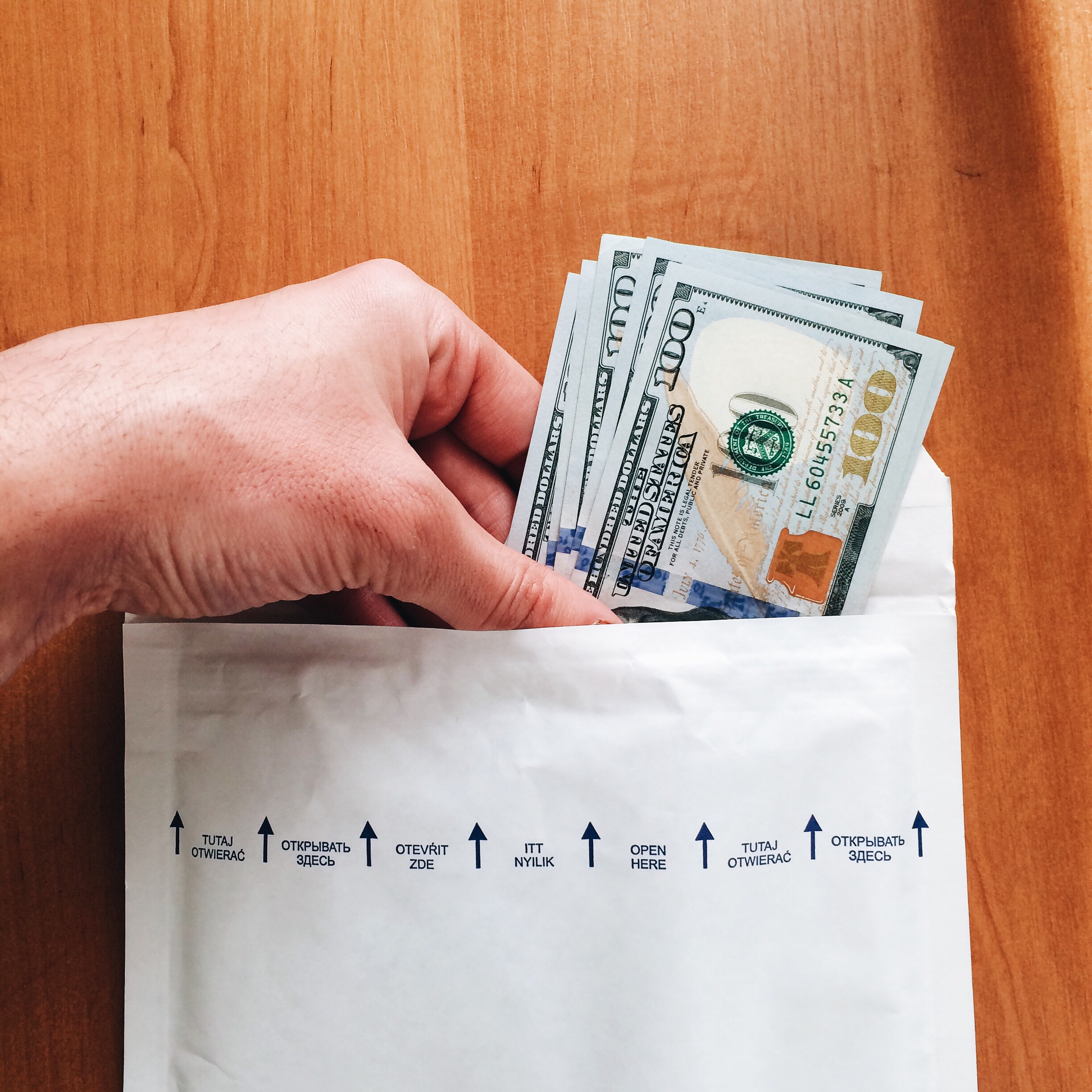 money transfer and credit unions
